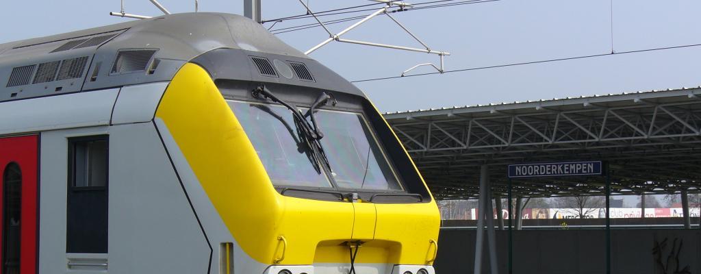 Trein station Noorderkempen
