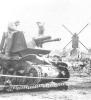 Duits rupsvoertuig in Sint-Lenaarts