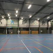 Grote zaal Sporthal De Ring